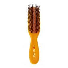 Расческа I LOVE MY HAIR Spider 1501 Желтая L